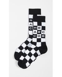 Marc Jacobs The Logo Socks - Black