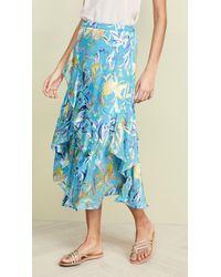 Tanya Taylor Liliana Skirt - Blue