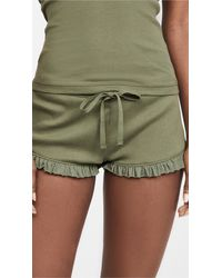 Skin Raffaela Shorts - Green