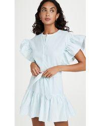 Saylor Fallon Dress - Blue