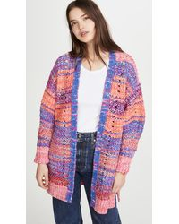 Free People Dreaming Again Cardigan - Multicolour