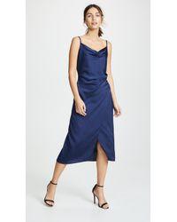Re:named Maddy Slip Dress - Blue