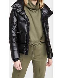 Sam. Vegan Leather Isabel Jacket - Black