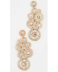 Gas Bijoux Earring Tornade - Metallic