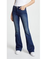 FRAME - Le High Flare Jeans - Lyst