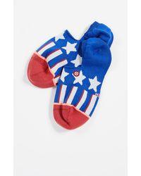 Stance Patriotism Socks - Blue