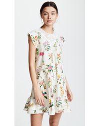 N°21 - Patterned Dress - Lyst