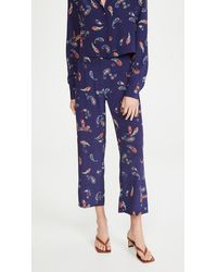 Ciao Lucia Pietro Trousers - Blue