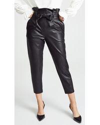 Amanda Uprichard Tessi Trousers - Black