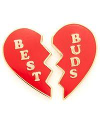 Georgia Perry - Best Buds Lapel Pin - Lyst