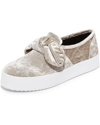 Rebecca Minkoff - Stacey Stud Bow Trainers - Lyst