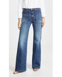 Veronica Beard Crosbie Jeans - Blue