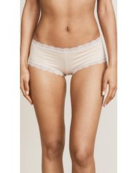 Hanky Panky - Cotton With A Conscience Boy Shorts - Lyst