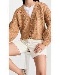 MINKPINK Farsistan Knit Cardigan - Natural