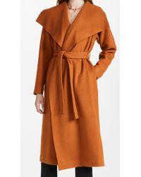 Rosetta Getty Wrap Robe Coat - Brown
