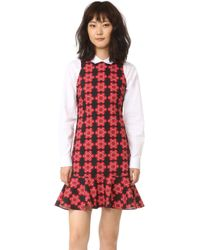 Holly Fulton - Print Shift Dress - Lyst