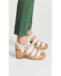 Madewell - The Sigrid Clog Sandals - Lyst