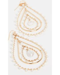Gas Bijoux Bo Orphee Earrings - Metallic