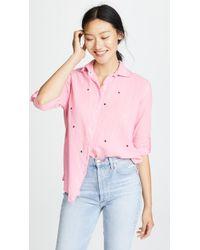 Sundry - Stars Oversized Shirt - Lyst