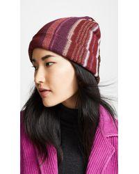 Missoni - Narrow Striped Hat - Lyst