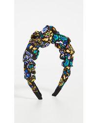 Tanya Taylor Ruched Headband - Multicolour