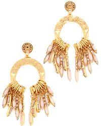 Elizabeth Cole - Bahati Earrings - Lyst
