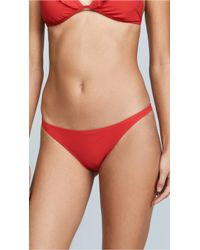 Tory Burch - Solid Low Rise Bottoms - Lyst