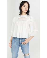 Free People Laura Top - White