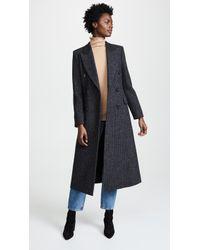 Pringle of Scotland - Wool Tweed Coat - Lyst