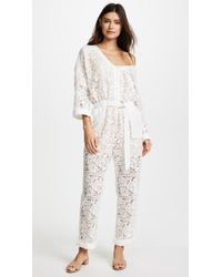 We Are Kindred - Gisella Lace Jumpsuit - Lyst