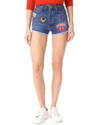 Etienne Marcel - High Rise Destroyed Shorts - Lyst