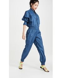 adidas By Stella McCartney Coveralls - Blue