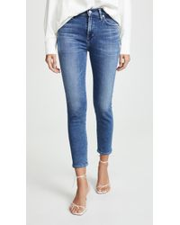 Citizens of Humanity Rocket Crop Jeans - Blue