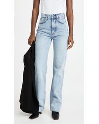Anine Bing Kat Jeans - Blue