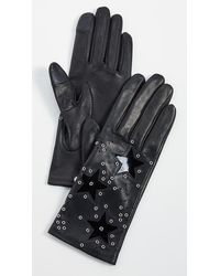 Agnelle Kim Short Gloves - Black
