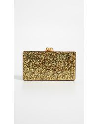 Edie Parker Jean Solid Clutch - Multicolour