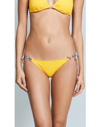 Heidi Klum - Sun Muse Tie Side Bikini Bottoms - Lyst