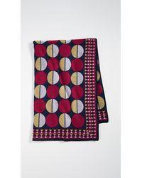 La DoubleJ Printed Wool Blanket - Multicolor