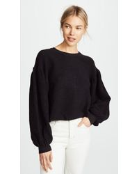 Free People - Sleeves Like These Pullover - Lyst