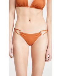 Cult Gaia Riley Bikini Bottoms - Orange