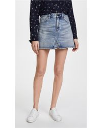 Citizens of Humanity - Cutoff Miniskirt - Lyst