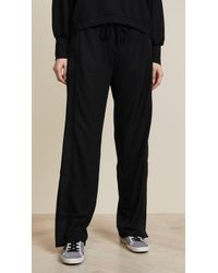 Twenty - Kent Crepe Racing Stripe Track Pants - Lyst