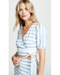 6 Shore Road By Pooja - Maritime Wrap Top - Lyst