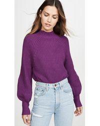 Apiece Apart Sequoia Sweater - Purple