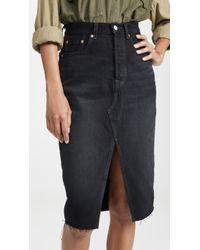 Levi's Deconstructed Skirt - Black