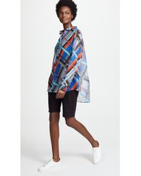 Paul Smith - Multicolor Button Down Top - Lyst