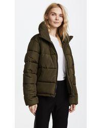 Glamorous - Cropped Puffer Coat - Lyst