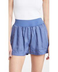 Cinq À Sept Bethany Shorts - Blue