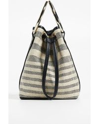 Maison Boinet - Medium Two Ring Bucket Bag - Lyst