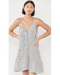 9seed St. Tropez Polka Dot Dress - White